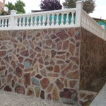 Piedra y balaustre
